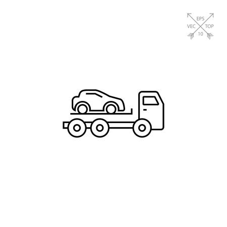 incorrect: Tow truck Illustration