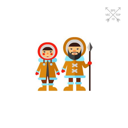 eskimos: Two Eskimos Icon