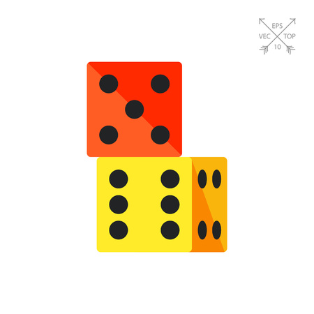 six point: Two Dice Icon