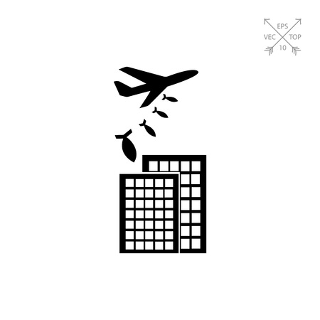 eliminating: War Concept Icon Illustration