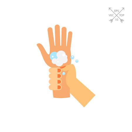 Washing Wrists Icon