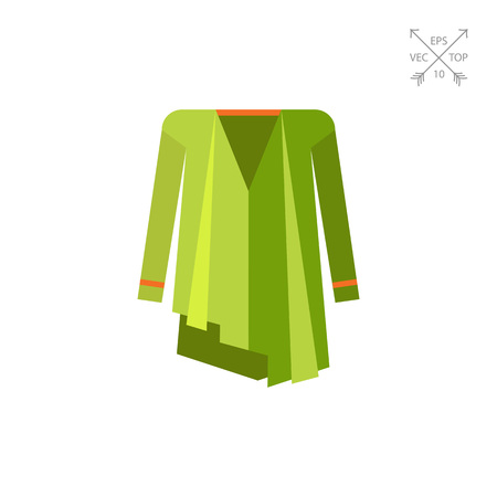 Woman poncho coat