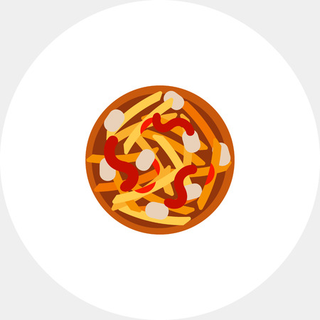 Canadian national poutine icon