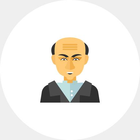 statesman: Portrait of Mustafa Kemal Ataturk icon