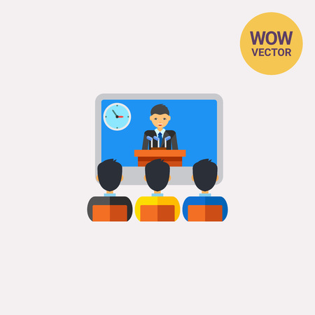video call: Online video conference icon