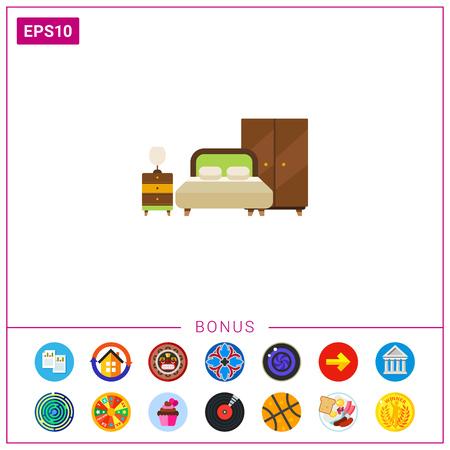 simple store: Bedroom interior