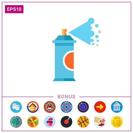 Aerosol Spray Paint Icon