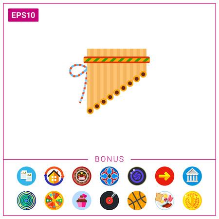 zampona: icono de flauta de pan Antara