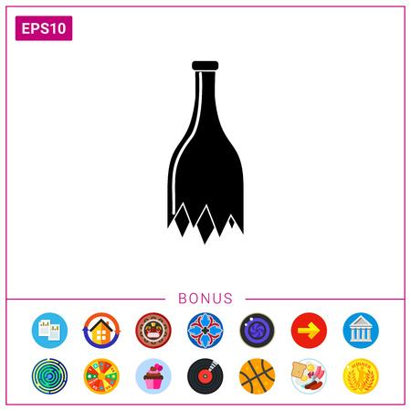 splinter: Bottle Simple Icon.