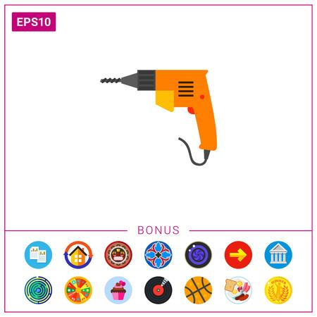 Electric drill icon