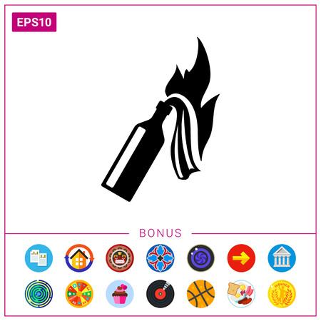 molotov: Fire Cocktail Icon
