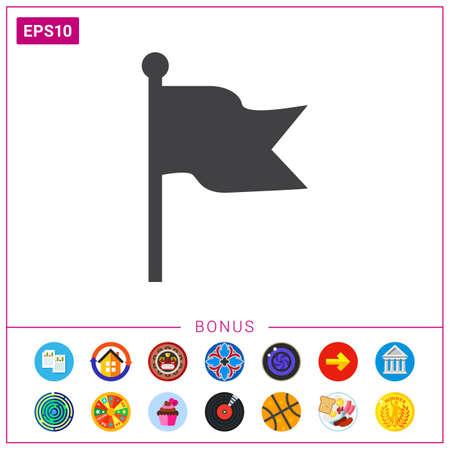 flag: Flag icon Illustration