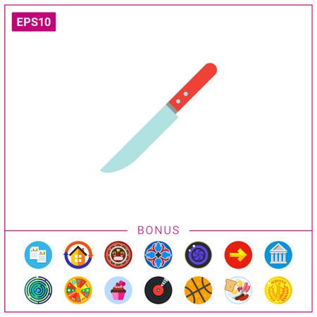 Knife icon Illustration
