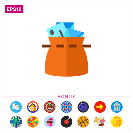 Mail bag icon
