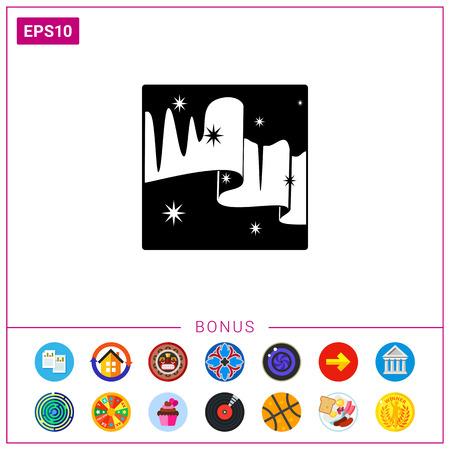 polaris: Northern lights simple icon