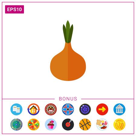 Onion bulb icon