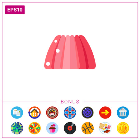 jello: Pink Jelly Icon