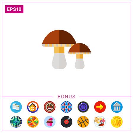 cep: Porcini Mushrooms Icon