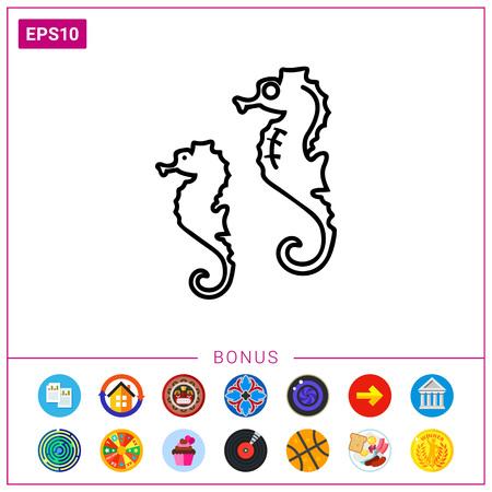 Seahorses icon