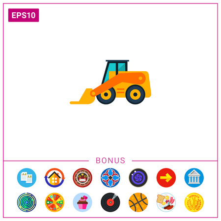 skid: Skid loader icon