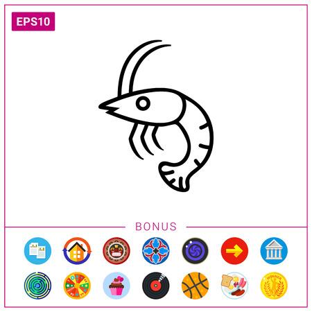 pawns: Shrimp icon