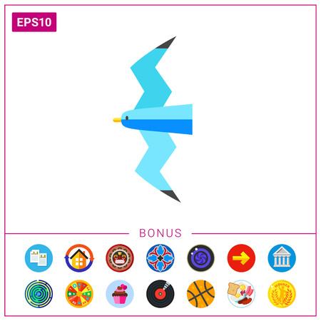 Seagull Concept Icon