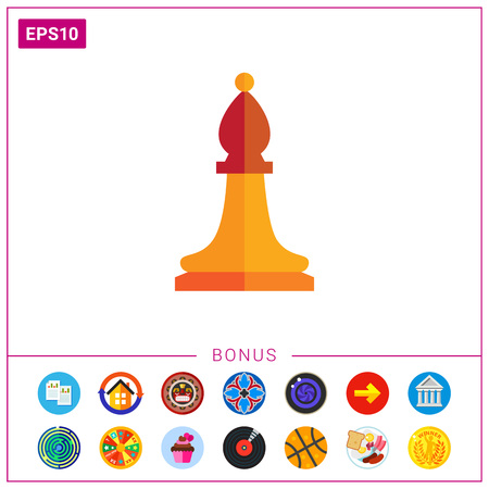 Chess bishop icon
