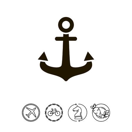 Anchor icon Reklamní fotografie - 77696879