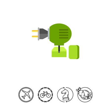 Anti-mosquito Fumigator Icon