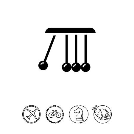 Balancing balls icon