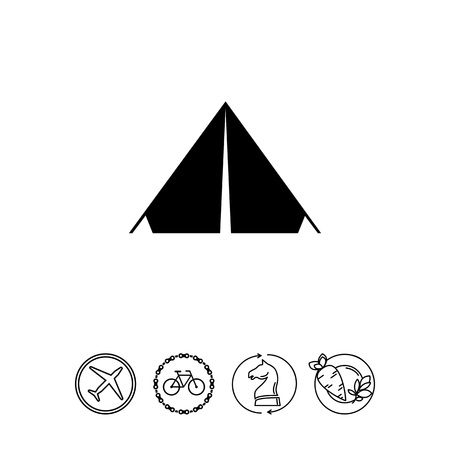 recess: Camp Tent Icon
