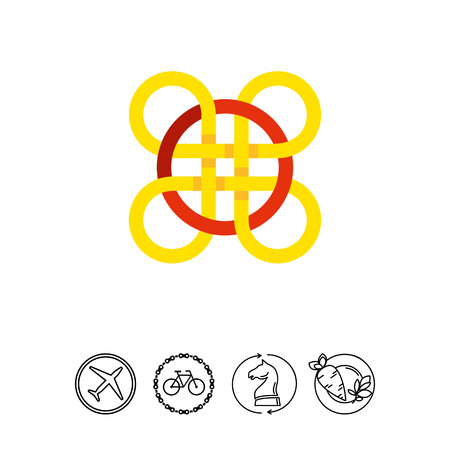 eternity: Celtic knot icon