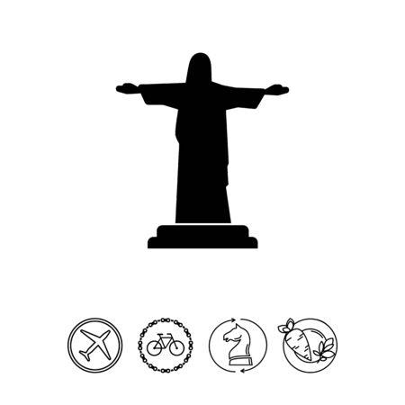 Christ the Redeemer statue Banco de Imagens - 78028157