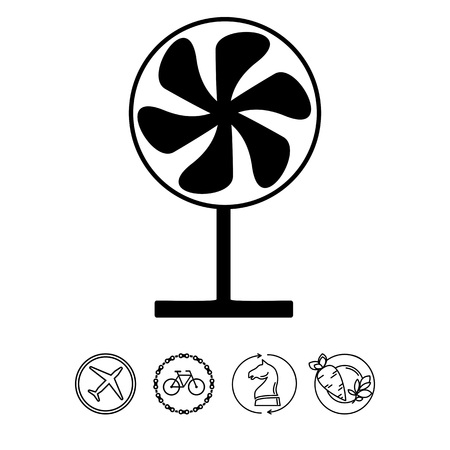 midsummer: Fan on Stand Icon