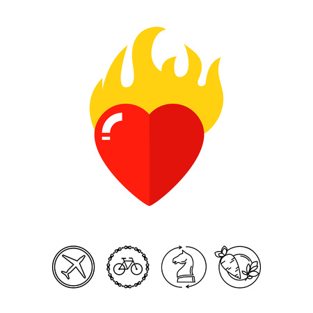 Heart in Passion Icon