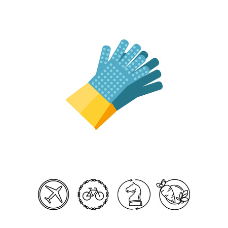 House Gloves Icon