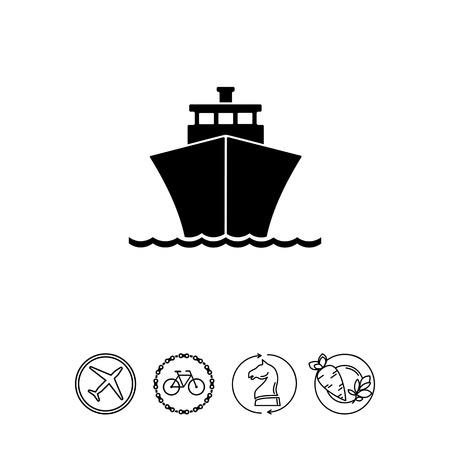 Cruise simple icon