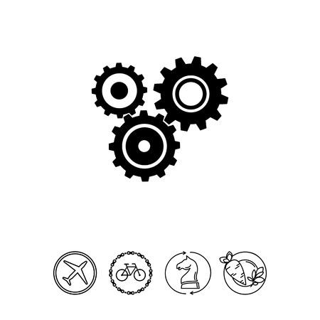 Engineering simple icon Illustration
