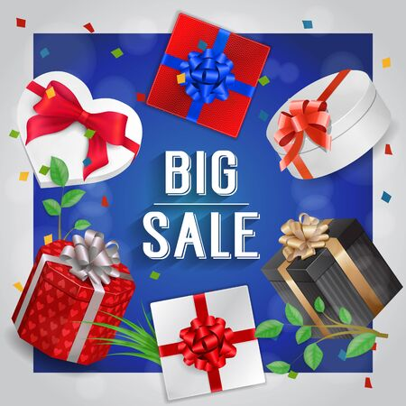 Big Sale Lettering, Gifts and Confetti