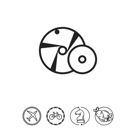 Grinding wheel Иллюстрация