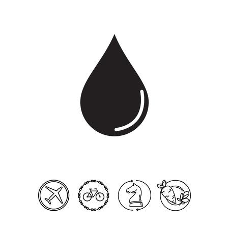 Liquid drop icon