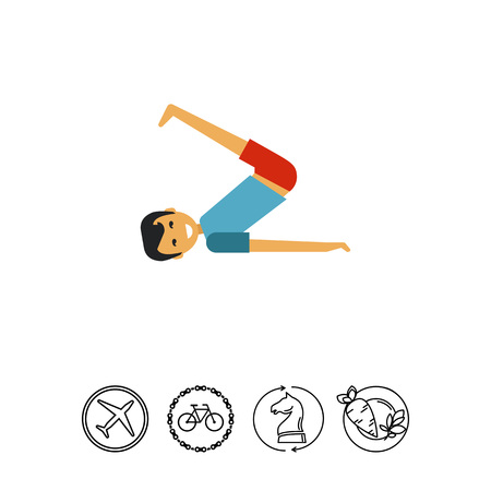 lift up: Man doing exercises