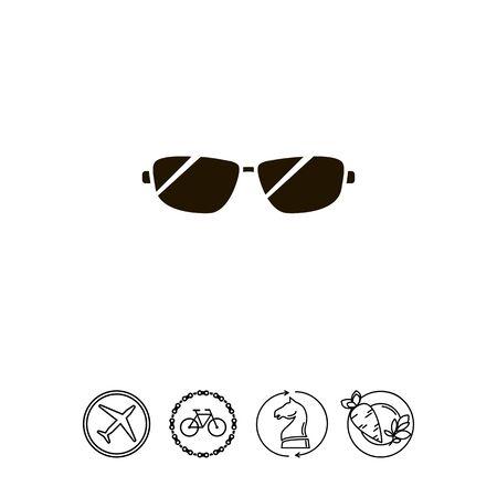 Men sun glasses