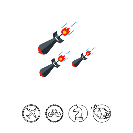 Missiles Vector Icon