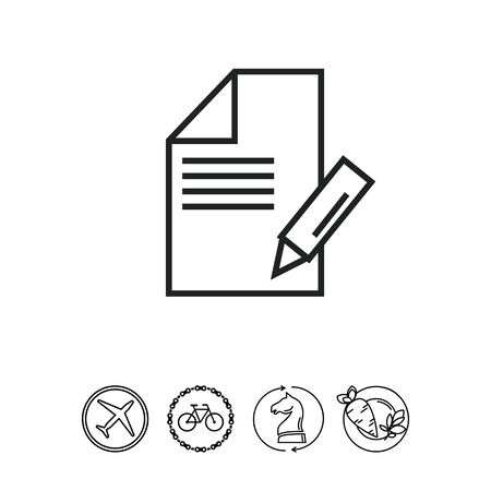note paper: Note icon