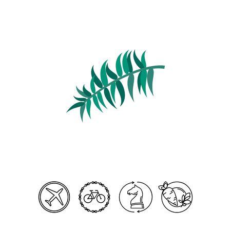 Palm Leaf Icon