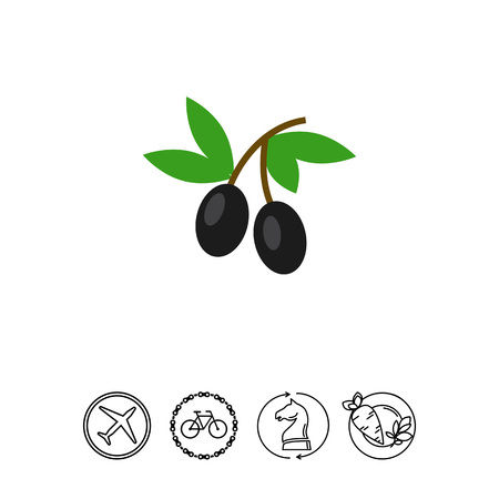 mediterranean diet: Olives icon