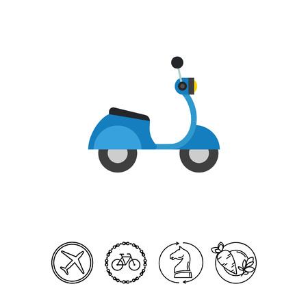 Motorbike. Transportation, driving, fast. Motorbike concept.
