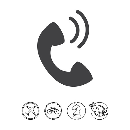 receiver: Telephone receiver Illustration