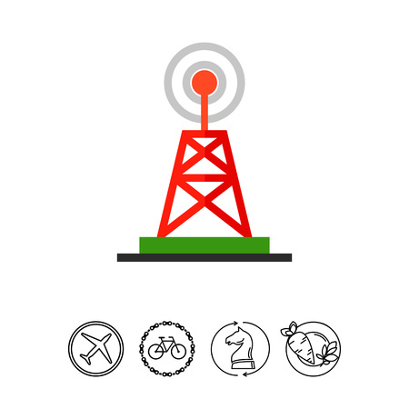 tv tower: Television Tower as Broadcast Concept Icon
